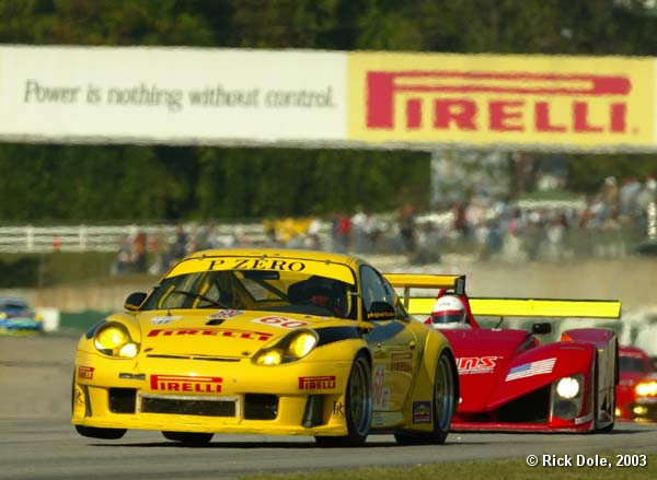 In control............Pirelli and PK