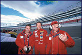 Mike and Toine in Las Vegas...........with Tom Coronel