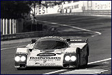1985 Le Mans ....... rare defeat for the Rothmans Team ...... Bell on his way to Terte Rouge