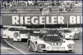 Jonathan Palmer in the 956 at Hockenheim in 85