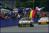 Marc Leib takes the flag and victory in the Spa 24 Hours