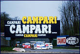 Monza Revival......1000KMS in 1987 Raphanel's Courage into the second chicane