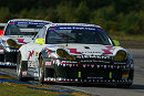 Marc Lieb and Stephane Ortelli second in N-GT with the Freisinger Porsche