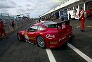 Ferrari 575 Maranello...............Here Christian Pescatori takes to the track for the first time in competition