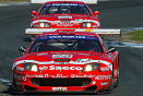 Eventual victors at Oschersleben, Thomas Biaggi and Matteo Bobbi, BMS Scuderia Italia Ferrari 550 Maranello