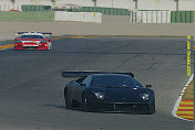 Peter Kox puts the Murcielago through its paces